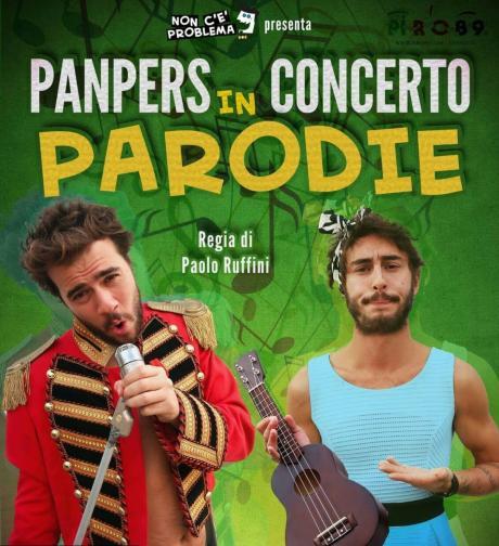 PanPers live concert con Parodie, regia di Paolo Ruffini