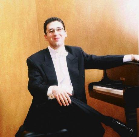 Il Pianista Giuseppe Andaloro in concerto