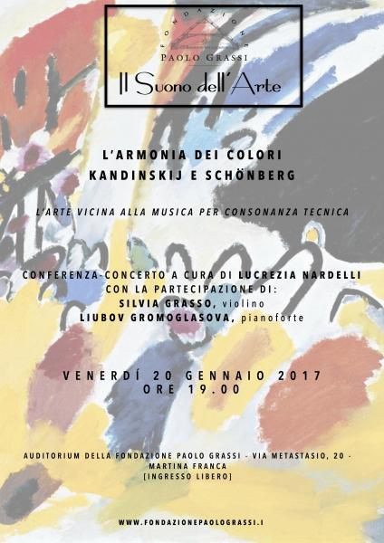 """IL SUONO DELL'ARTE: """"L'armonia dei colori. Kandinskij e Schönberg"""""""