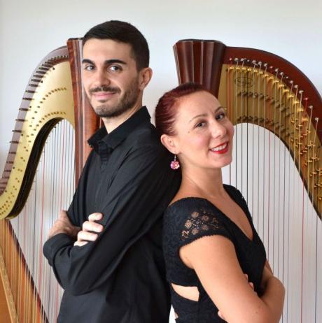 DUO IMAGES con Fabrizio Aiello & Gabriella Russo – arpe - YOUNG, le domeniche in concerto