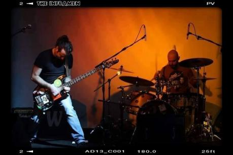 The Inframen garage noise live da TABIR Taranto