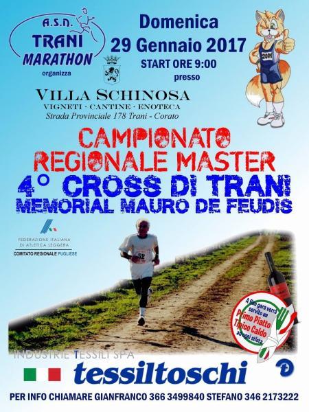 Campionato Regionale Master - 4° Coross di Trani - Memorial Mauro de Feudis