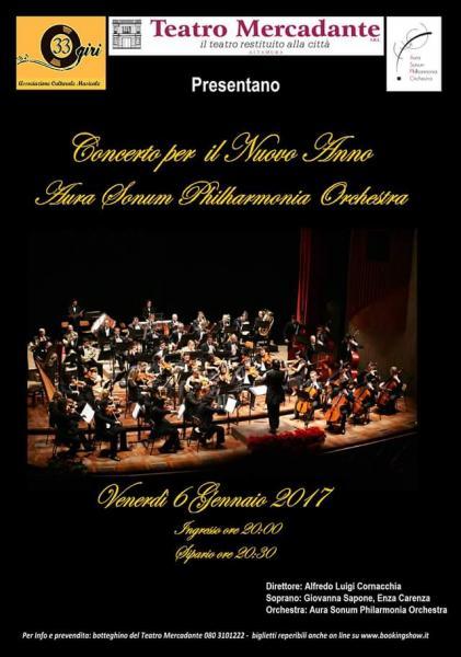 Concerto per il Nuovo Anno - Aura Sonum Philharmonia Orchestra