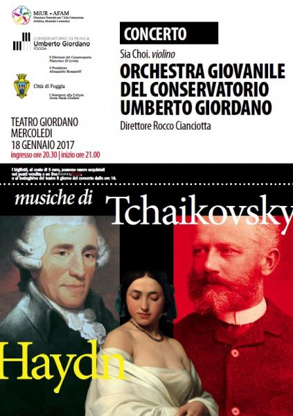 L'Orchestra Giovanile del Conservatorio Giordano interpreta Tchaikovsky e Haydn