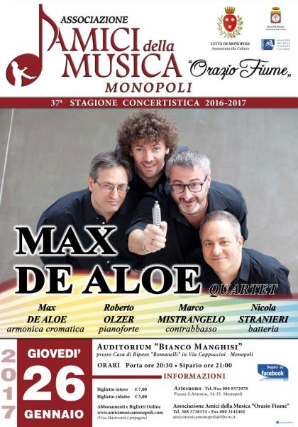 Max De Aloe Jazz quartet