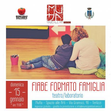 Fiabe formato Famiglia - teatro per bambini