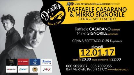 Mirko Signorile  Raffaele Casarano