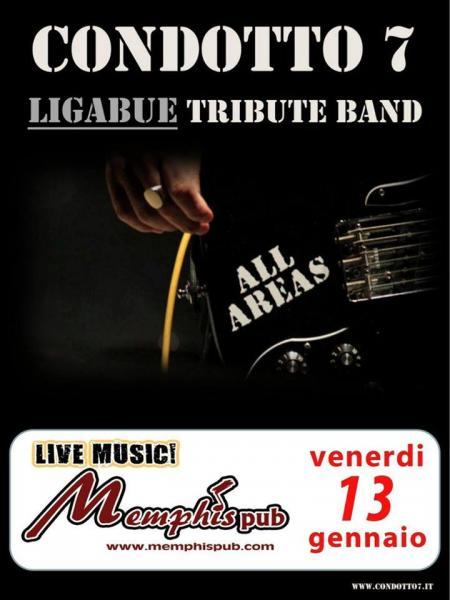 CONDOTTO7 (Ligabue Tribute Band) live al MEMPHIS Pub - Bernalda (MT)