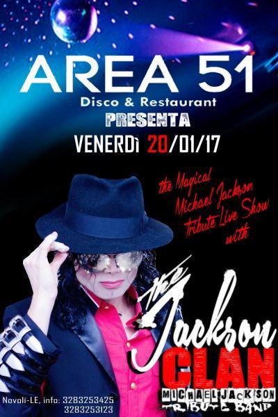 The JACKSON CLAN live at Area 51 - Novoli (LE)