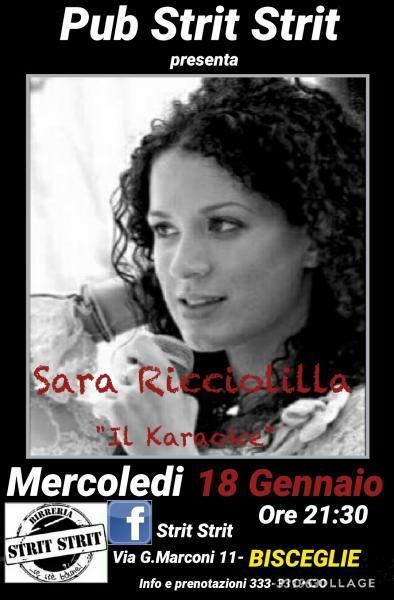 Karaoke  con Sara Ricciolilla