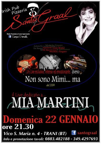 Non sono Mimì ma - Il LIVE dedicato a MIA Martini.