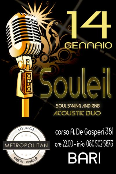 Souleil *** Soul Swing and R&B - Acoustic Duo