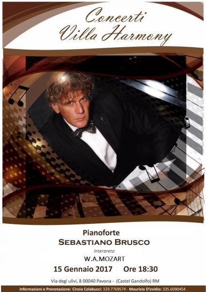 Sebastiano Brusco a Villa Harmony