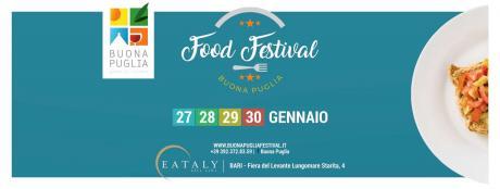 Buona Puglia Food Festival 2017: protagonista l'eccellenza enogastronomica