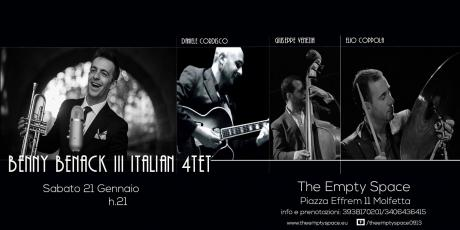 Empty Space: Benny Benack III Italian Quartet