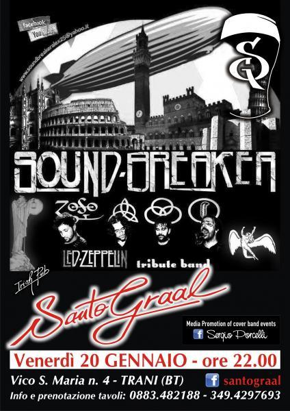 SOUND Breaker LED Zeppelin tribute band at Santo Graal