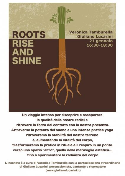 Roots Rise and Shine, la potenza del suono e dello yoga con Veronica Tamburella