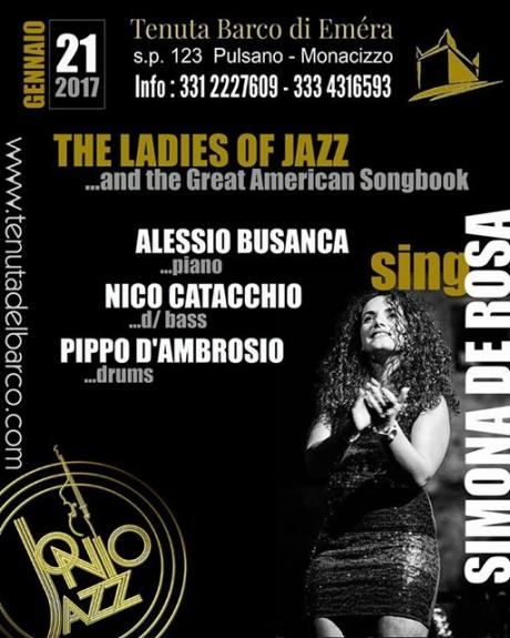 """Simona De Rosa 4tet                       """"The Ladies of Jazz and the Great American Songbook"""""""