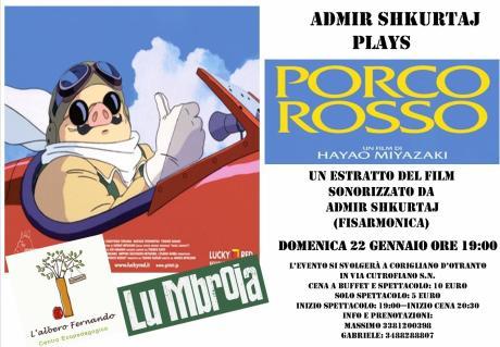Admir Shkurtaj Plays Porco Rosso