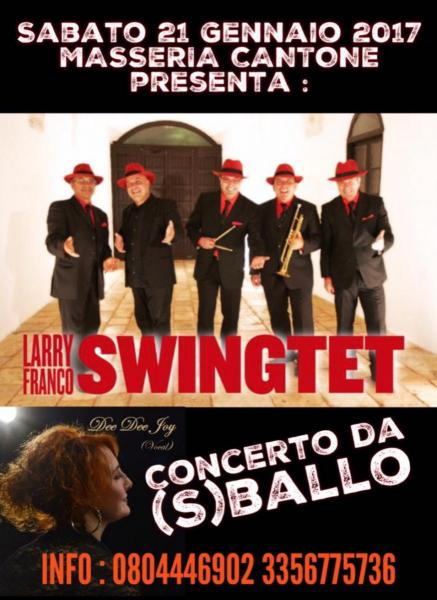 Serata swing con Larry Franco swingtet
