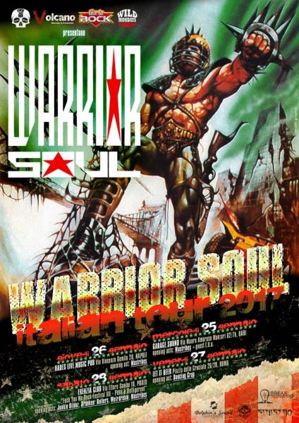 WARRIOR SOUL (USA) live at Garage Sound!!