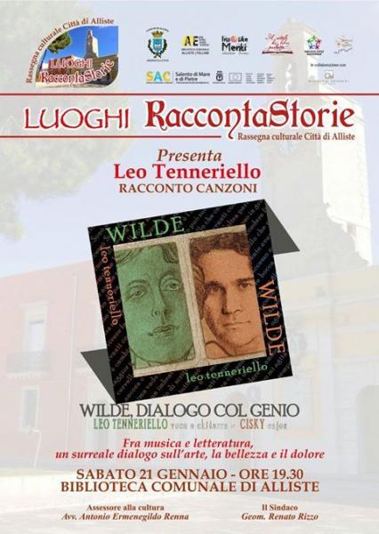 """""""Wilde, dialogo col genio"""" - live di Leo Tenneriello"""