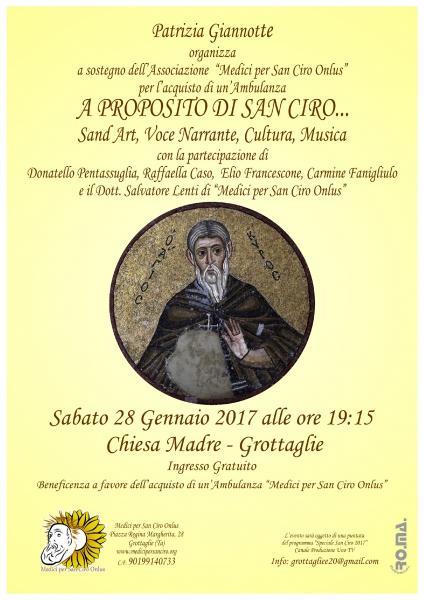 """""""A Proposito di San Ciro"""""""