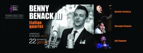 Benny Benack III Italian Quartet