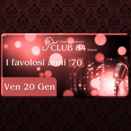 I Favolosi Anni '70 - Klaus dj al Club 84 di Maglie