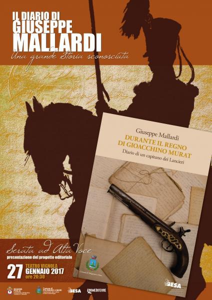 """La Storia ad """"Alta Voce"""": il Diario di Giuseppe Mallardi"""