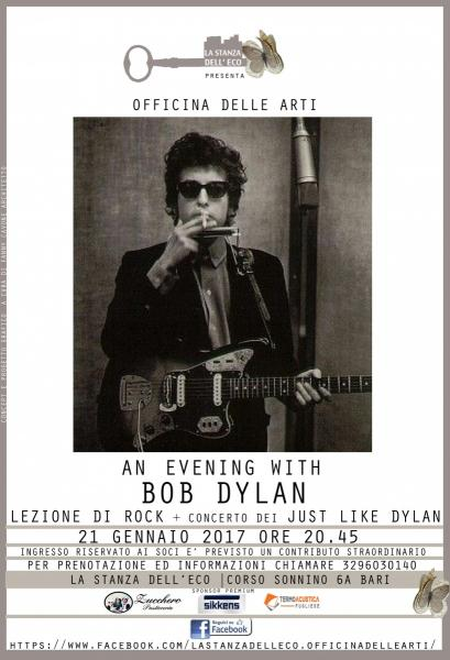 An evening with BOB DYLAN