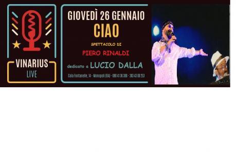 Ciao - Omaggio a Lucio Dalla