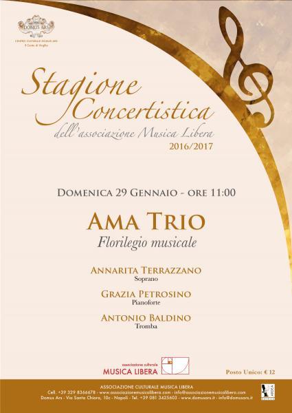 """Ama Trio in """"Florilegio Musicale"""""""
