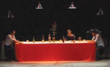 CALCEDONIO testo di Manlio Santanelli  con la regia di Orlando Cinque