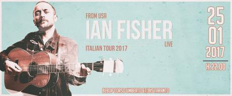 IAN FISHER (USA) in concerto al Bebop