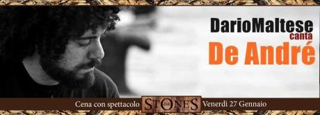 Dario Maltese canta De André - live at Stone's Club
