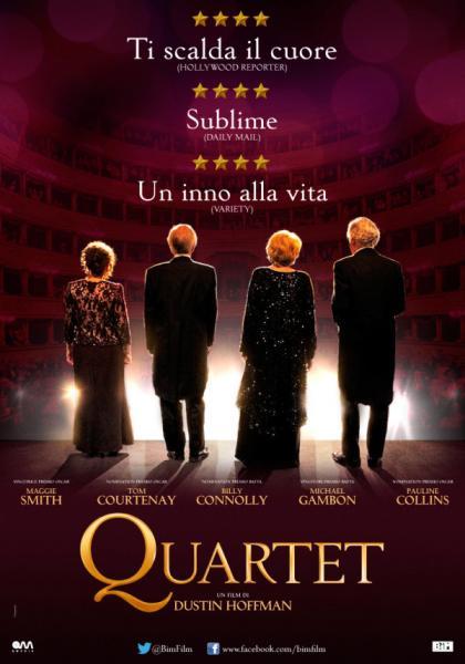 """Proiezione del film """"Quartet"""""""