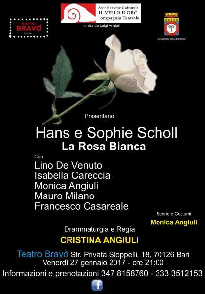 """Per il Mese della Memoria:""""HANS E SOPHIE SCHOLL - LA ROSA BIANCA"""""""