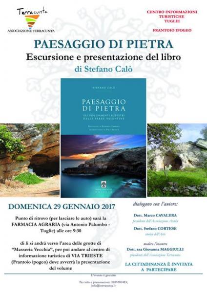 Paesaggio di pietra del Salento (escursione e presentazione libro)