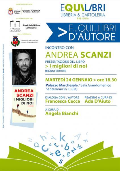 Incontro con Andrea Scanzi