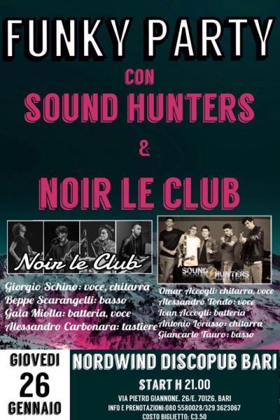 Funky Party : Sound Hunters + Noir le Club