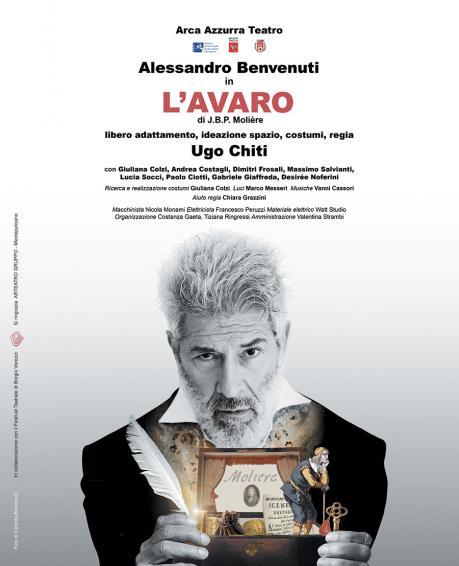 """Alessandro Benvenuti in """"L'avaro"""" di Moliere"""