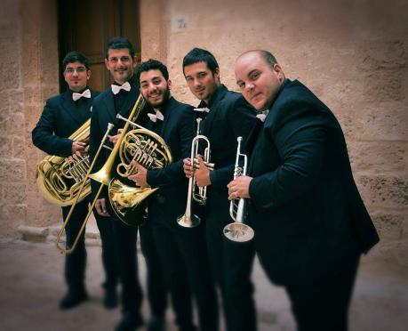 JONIC BRASS QUINTET, quintetto di ottoni – YOUNG, le domeniche in concerto
