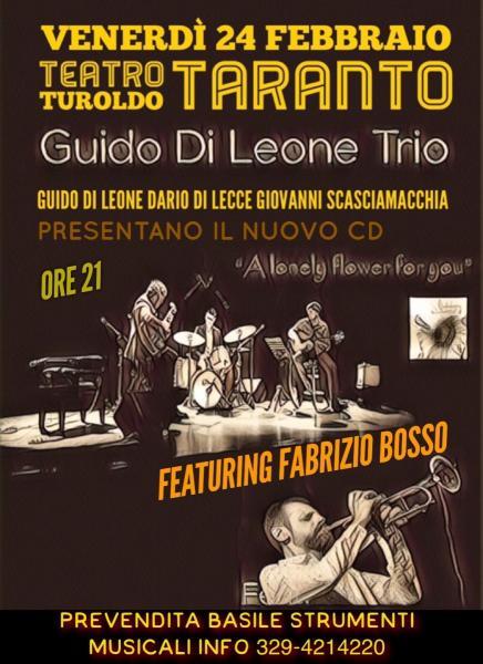 Guido Di Leone trio feat. Fabrizio Bosso