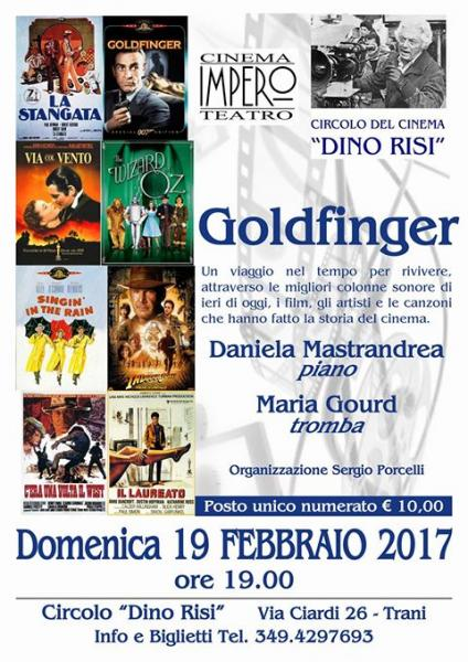 Daniela Mastrandrea e Maria Gourd in Goldfinger al Dino Risi