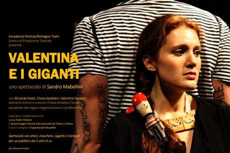 """VALENTINA E I GIGANTI - """"Il Posto delle Favole"""""""