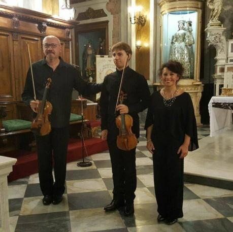 La Sonata barocca per due violini e cembalo  -  Trio Mousikè