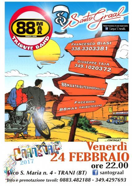 88max Tribute Band al Santo Graal