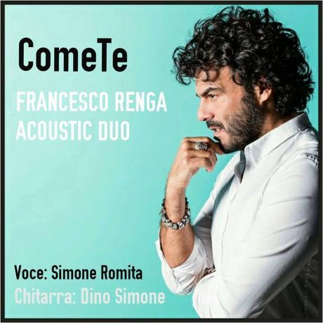 ComeTe - Francesco Renga Acoustic Duo tribute al Santo Graal
