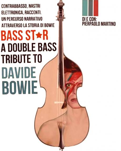 Bass Star - a Double Bass Tribute to Davide Bowie at Santo Graal